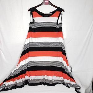 Lane Bryant Tank Top Shark Hem Dress Plus 14 16